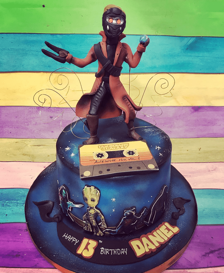 Alluring Guardians of the Galaxy Cake