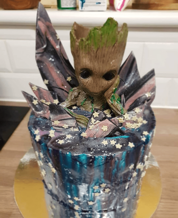 Bewitching Guardians of the Galaxy Cake