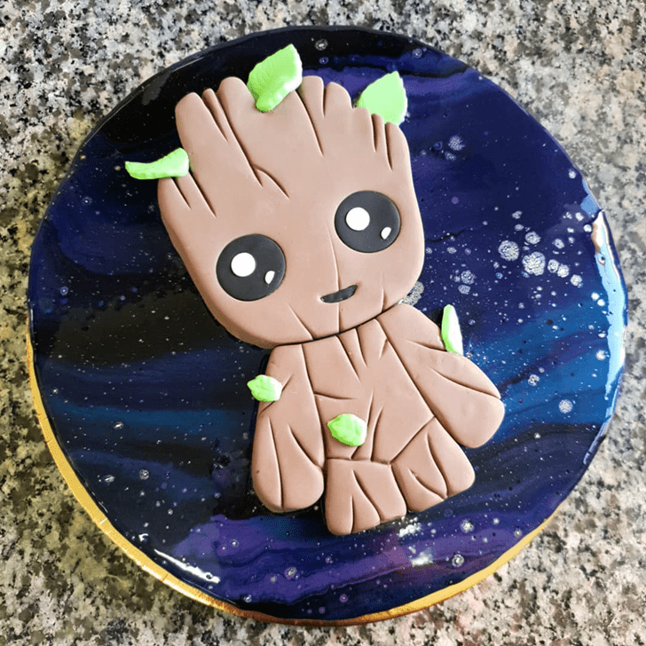 Captivating Guardians of the Galaxy Cake