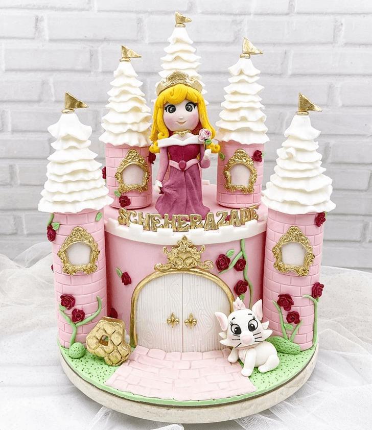 Alluring Sleeping Beauty Cake