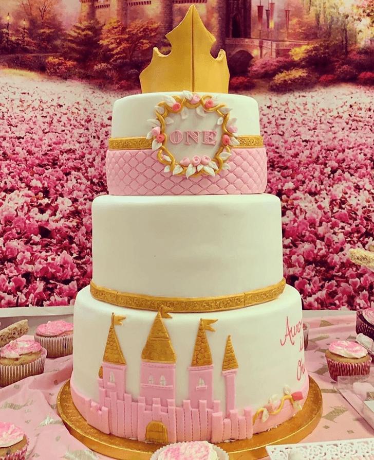Captivating Sleeping Beauty Cake